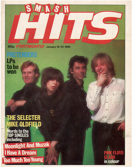 Vintage Covers Of  Smash Hits  Magazine (15)
