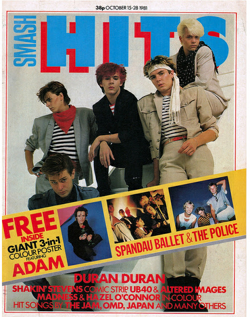 Vintage Covers Of  Smash Hits  Magazine (3)
