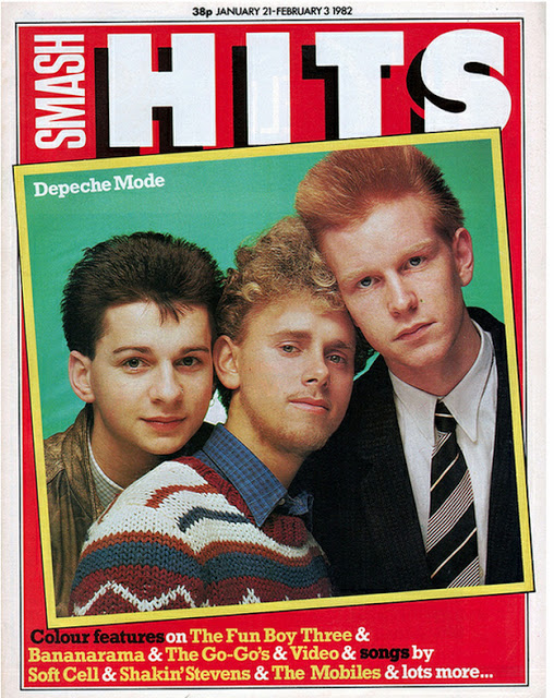 Vintage Covers Of  Smash Hits  Magazine (4)