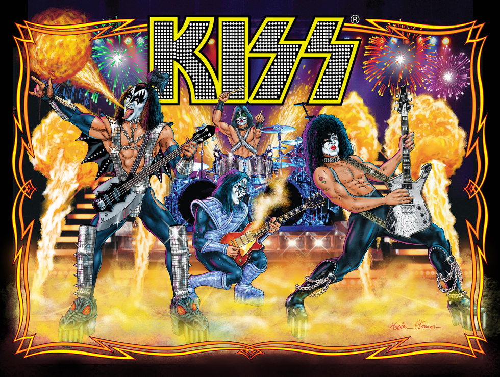 It S 1978 All Over Again With The Kiss Pinball Machine