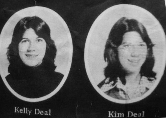 6. Kelley and Kim Deal