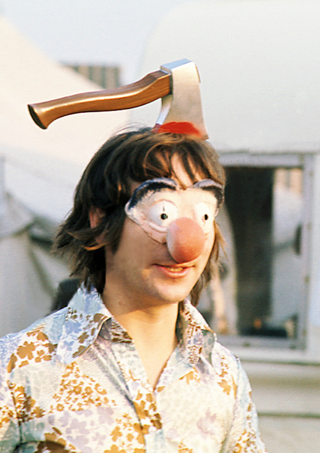Keith Moon at the Isle of Wight. August, 1970