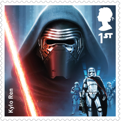 The Royal Mail Will Issue Star Wars Stamps On October 20