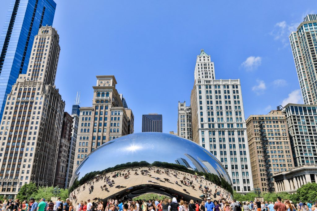 Cloud Gate in Chicago