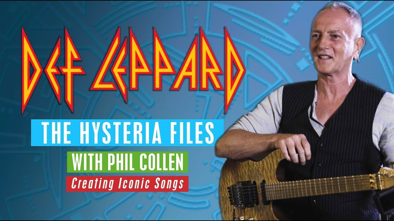 Phil Collen Looks Back On Def Leppard S Massive Hysteria