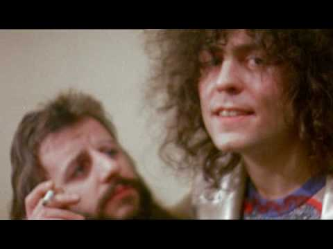 Marc Bolan And Ringo Starr With TRex Backstage At Wembley In 1972