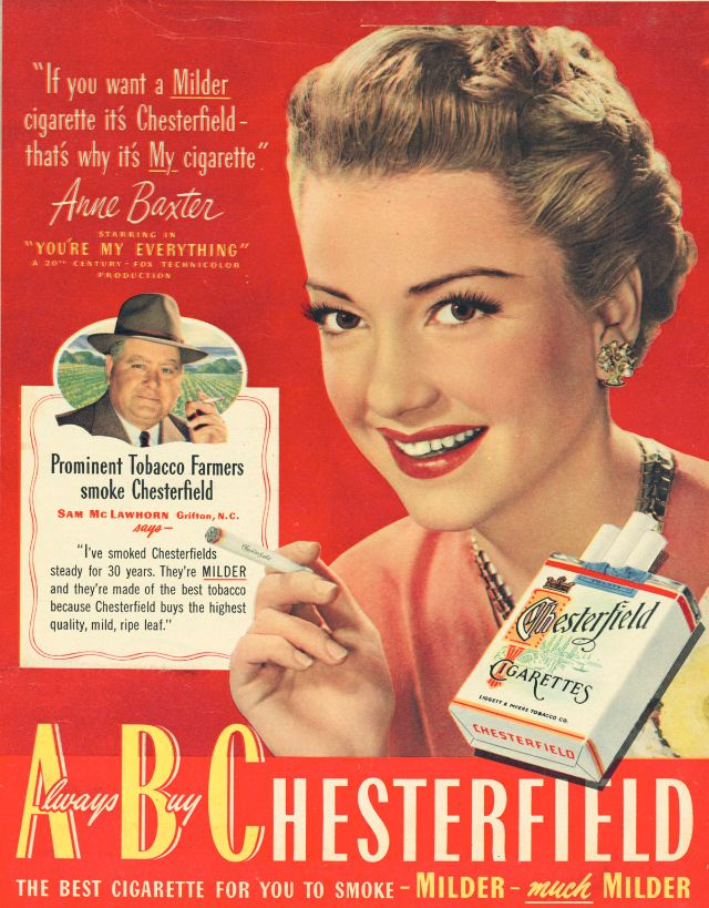 That Time Female Movie Stars Advertised Cigarettes That
