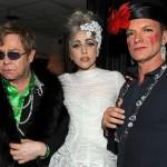 Elton John, Lady Gaga and Sting