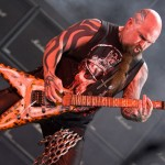 Kerry King of SLAYER performs in concert at the Rockstar Energy Drink Mayhem Festival at Verizon Wireless Music Center on July 25, 2009 in Noblesville, Indiana.