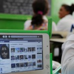 URUGUAY Montevideo , OLPC One Laptop per Child project is implemented on all public schools for all children under Plan Ceibal