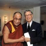 The Dalai Lama and Mr. Rogers