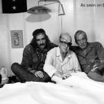 Dennis Hopper, John Ford and John Huston