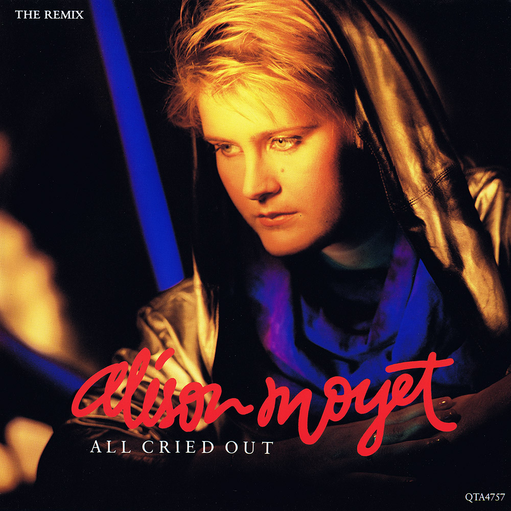 Alison Moyet – All Cried Out (The Remix) (UK 12″)