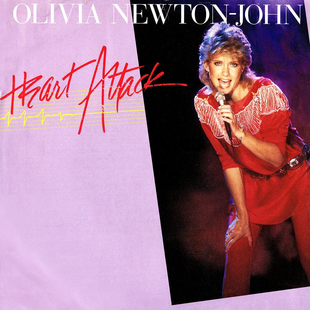 """Olivia Newton-John – Heart Attack (12"""")"""