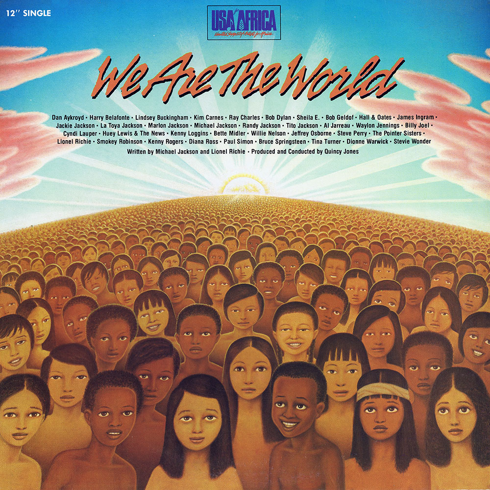 USA For Africa – We Are The World (US 12″ Promo)