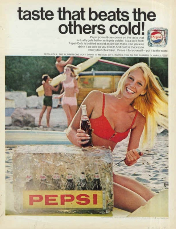 Pepsi Ads from 1960′s (6)