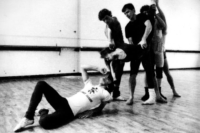 Freddie Mercury rehearsing with the Royal Ballet in 1979 (5)