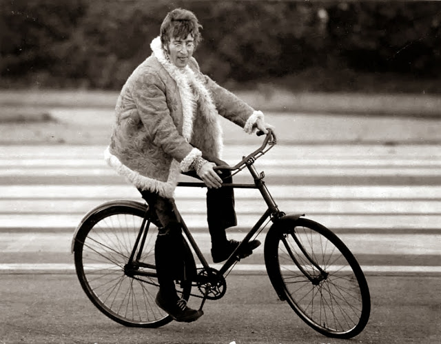 John Lennon On A Bike In Magical Mystery Tour Set That Eric Alper