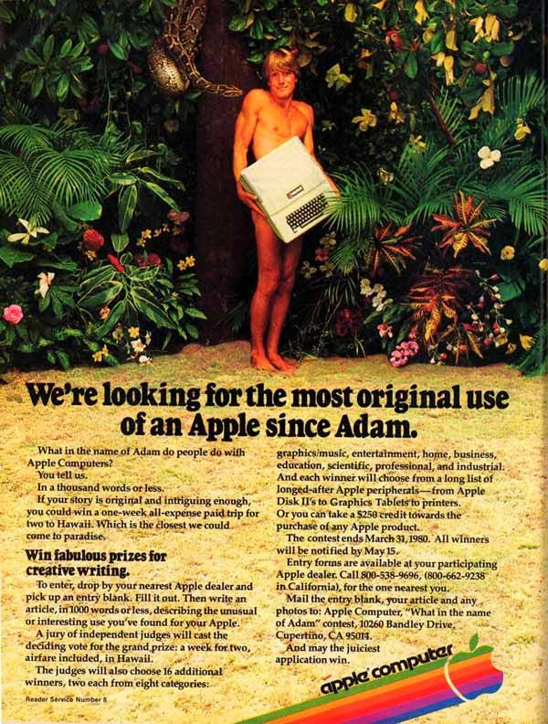 Vintage Apple Ads in the 1970s-80s (10)