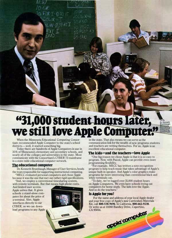 Vintage Apple Ads in the 1970s-80s (12)