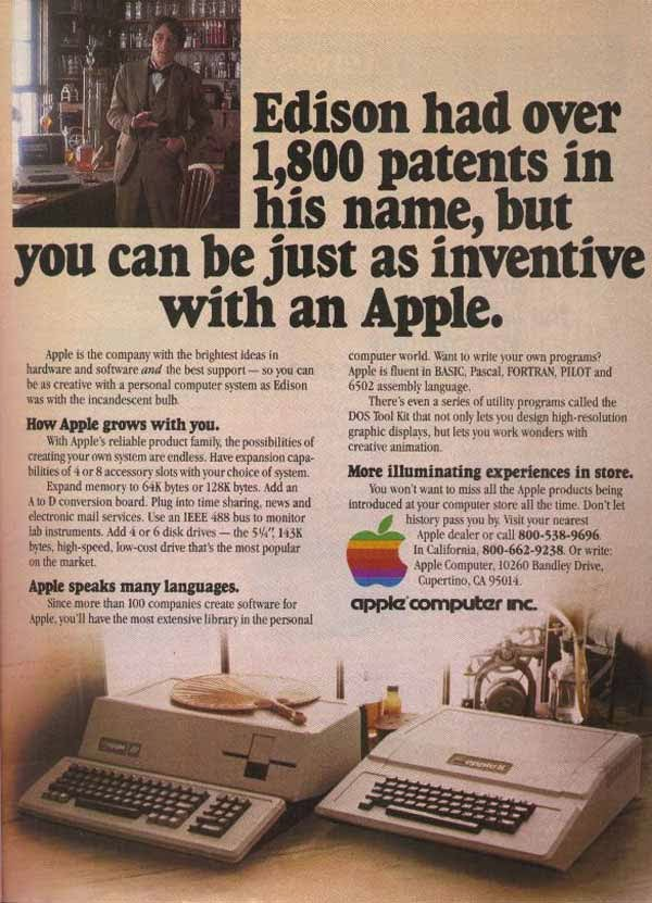Vintage Apple Ads in the 1970s-80s (15)