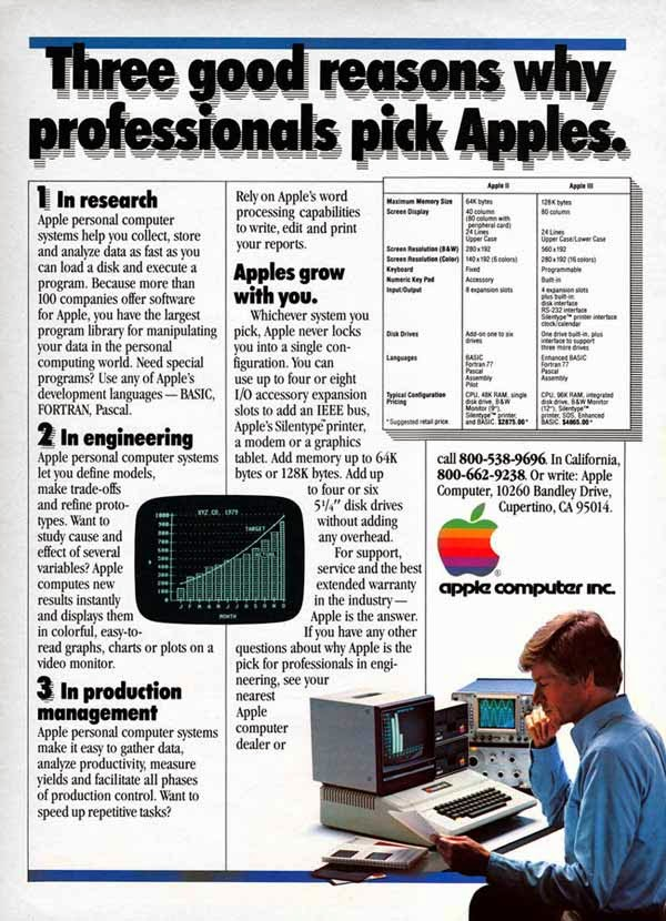 Vintage Apple Ads in the 1970s-80s (19)