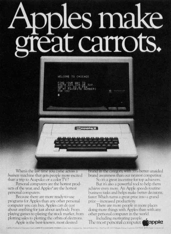 Vintage Apple Ads in the 1970s-80s (20)