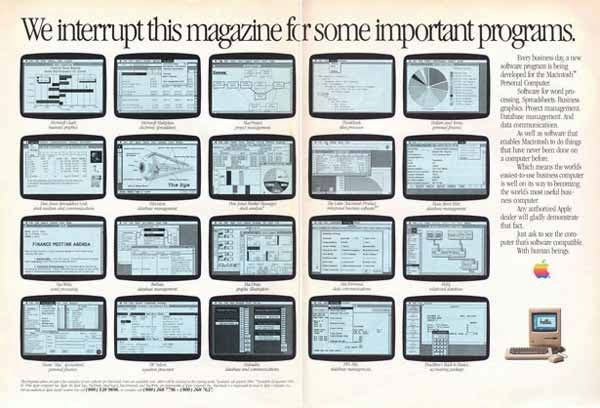 Vintage Apple Ads in the 1970s-80s (38)