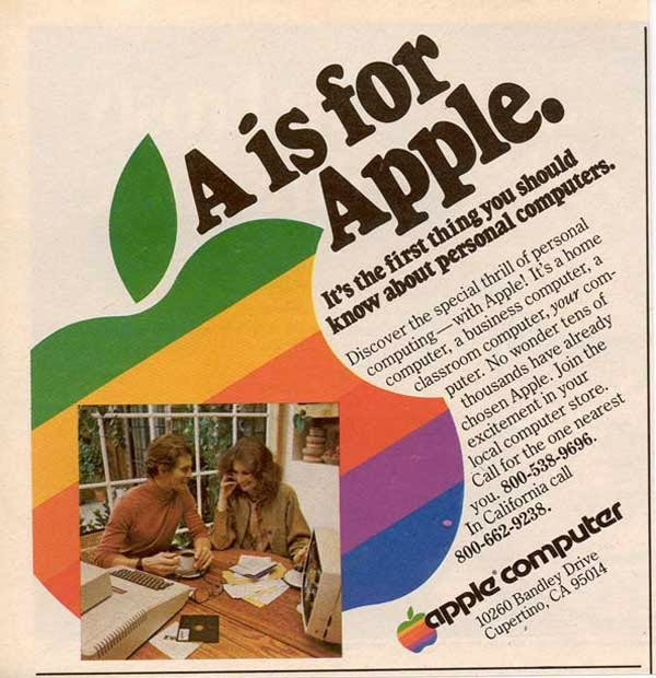 Vintage Apple Ads in the 1970s-80s (4)