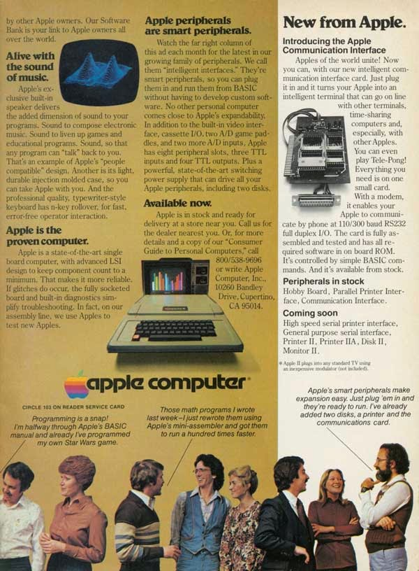 Vintage Apple Ads in the 1970s-80s (7)