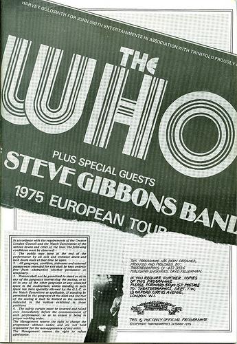 03 1975 - Who, The - European Tour - Side 2