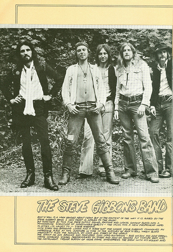 22 1975 - Who, The - European Tour - Opener Steve Gibbons Band - Side 21