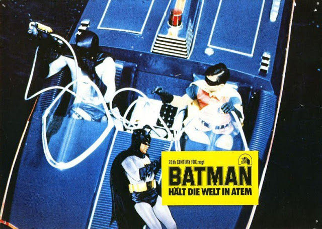 Adam West and Burt Ward in Batman, 1966 (10)