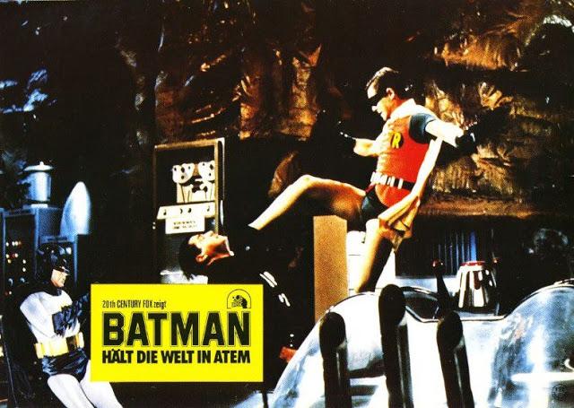 Adam West and Burt Ward in Batman, 1966 (11)
