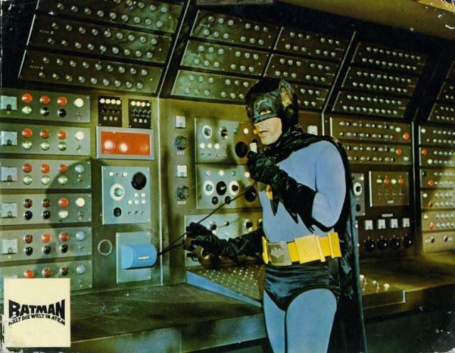 Adam West and Burt Ward in Batman, 1966 (3)