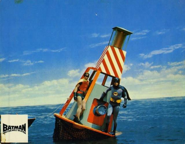 Adam West and Burt Ward in Batman, 1966 (4)