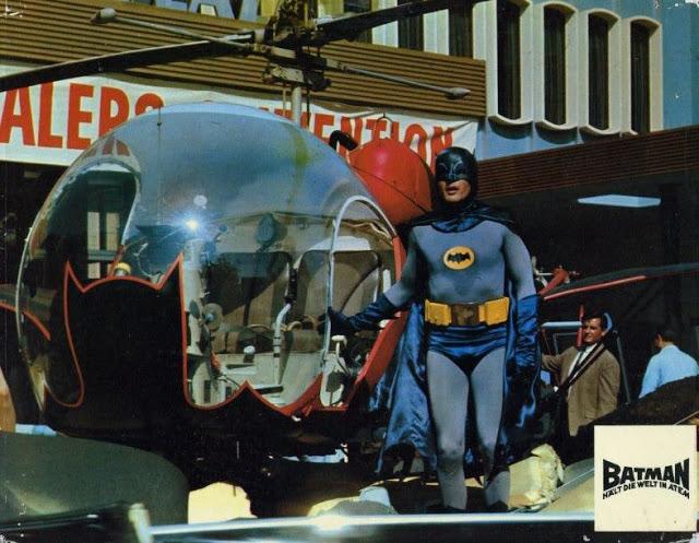 Adam West and Burt Ward in Batman, 1966 (5)