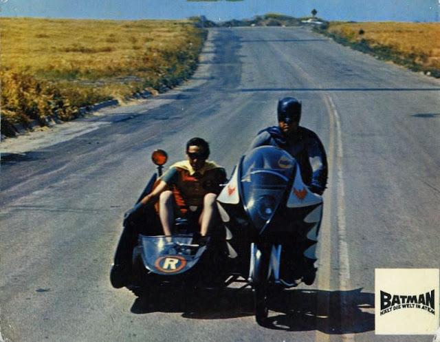 Adam West and Burt Ward in Batman, 1966 (6)