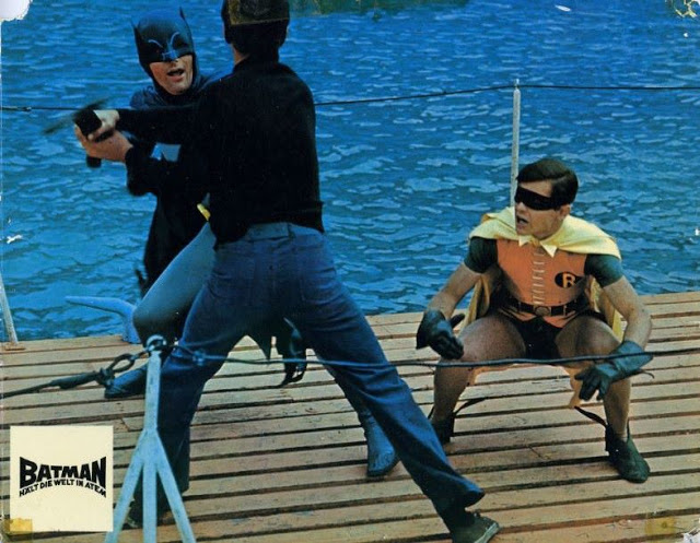 Adam West and Burt Ward in Batman, 1966 (7)