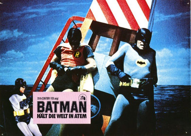 Adam West and Burt Ward in Batman, 1966 (8)