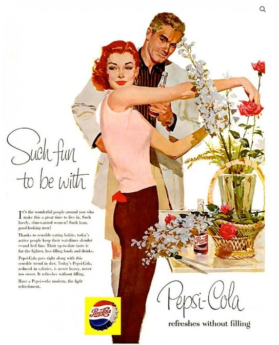 Pepsi Cola Ads, 1950s (2)
