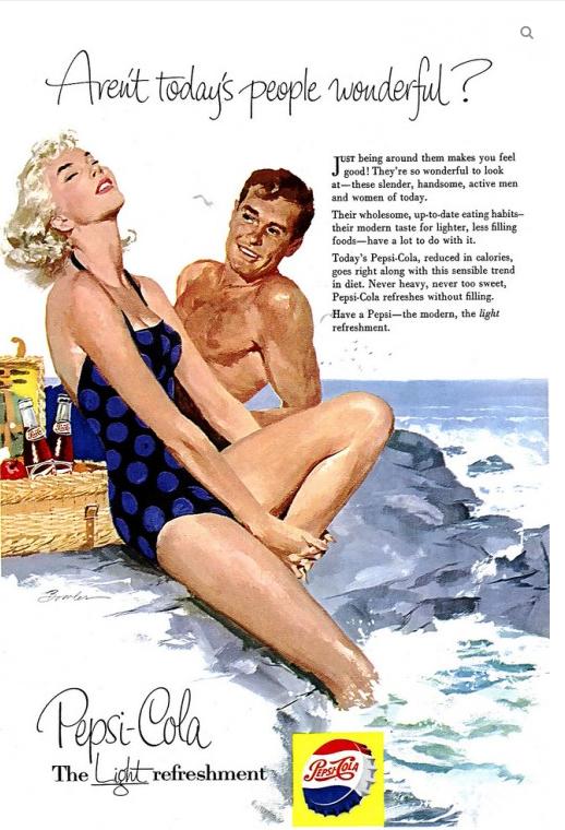 Pepsi Cola Ads, 1950s (5)