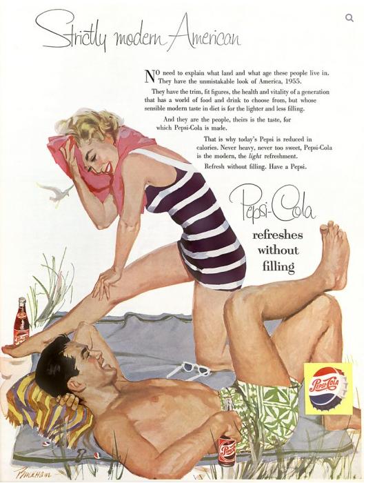 Pepsi Cola Ads, 1950s (8)