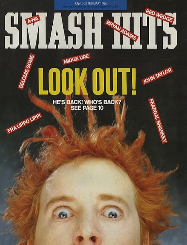 Smash Hits Covers from The '80s (16)