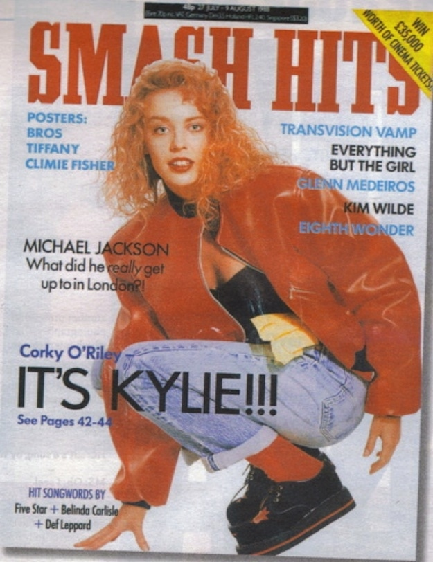 Smash Hits Covers from The '80s (20)