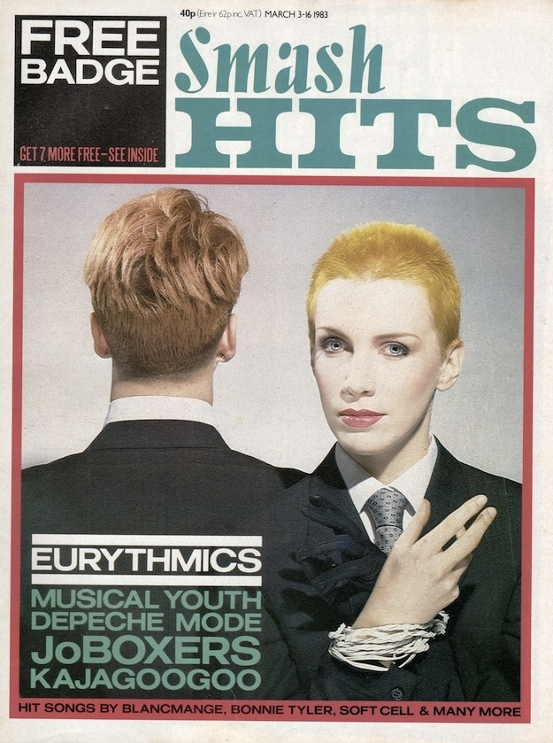 Smash Hits Covers from The '80s (6)
