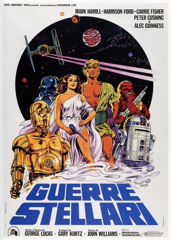 Star Wars Theatrical Posters Around The World in 1977 (7)