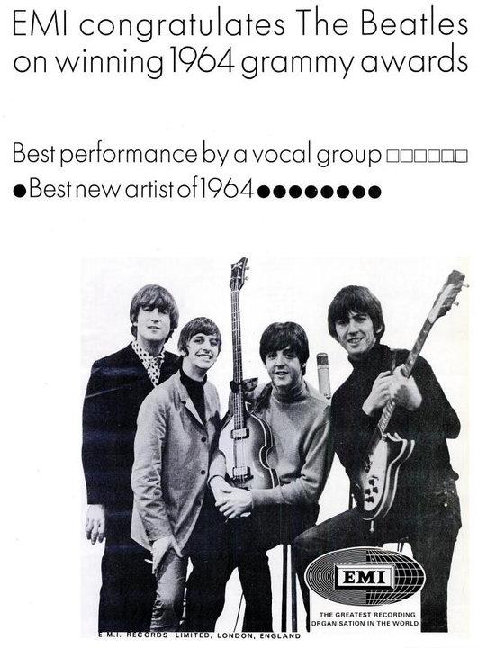 The Beatles' Vintage Ads (1)