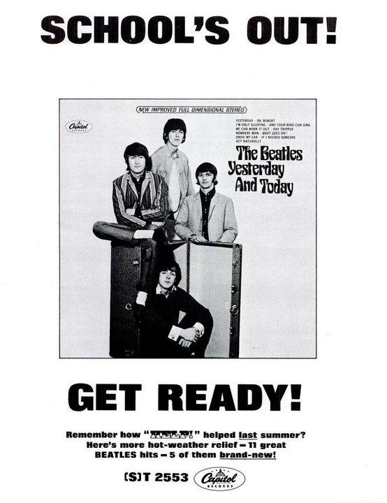 The Beatles' Vintage Ads (11)
