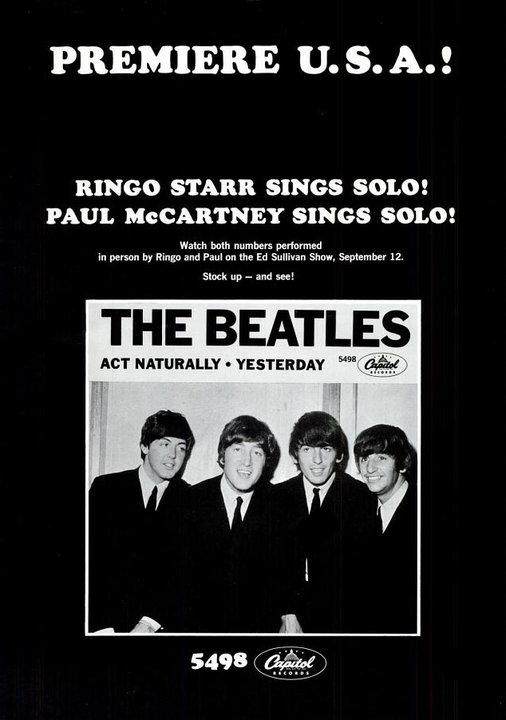 The Beatles' Vintage Ads (5)